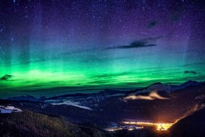 Revelstoke Northern Lights