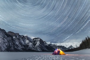 Tent Star Trails
