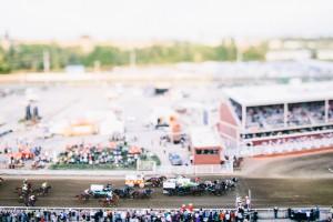 Calgary stampede chuck wagon race