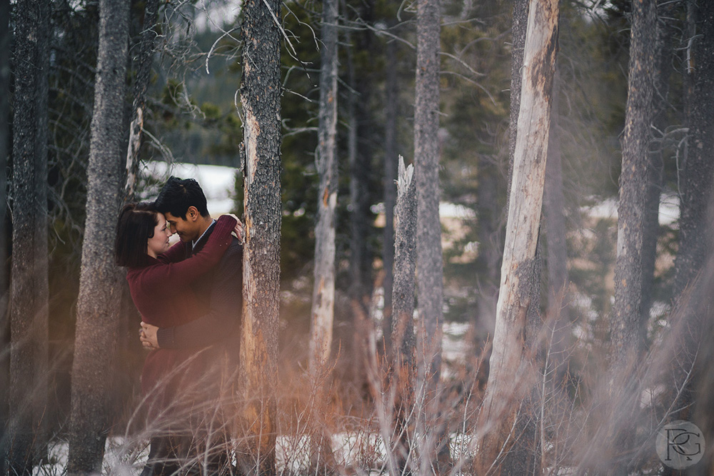 Calgary Kananasks Banff Engagement Wedding Photography